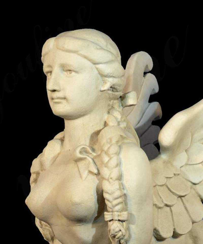 Sphinx Marble Statue for sale