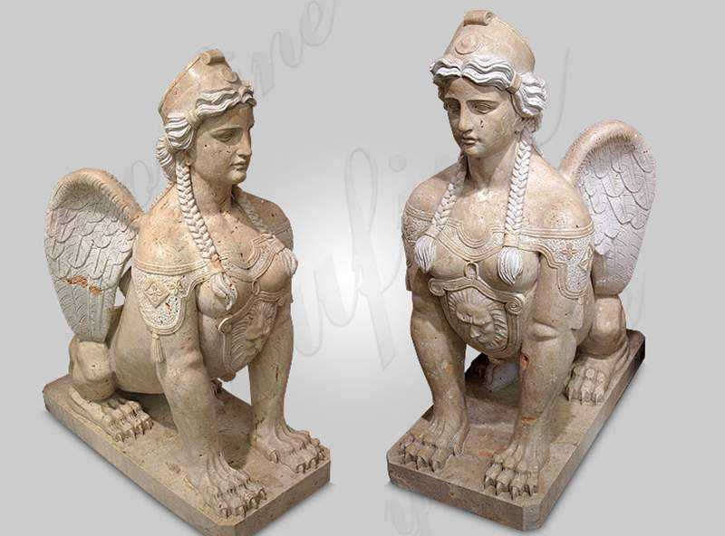 Sphinx Marble Statue