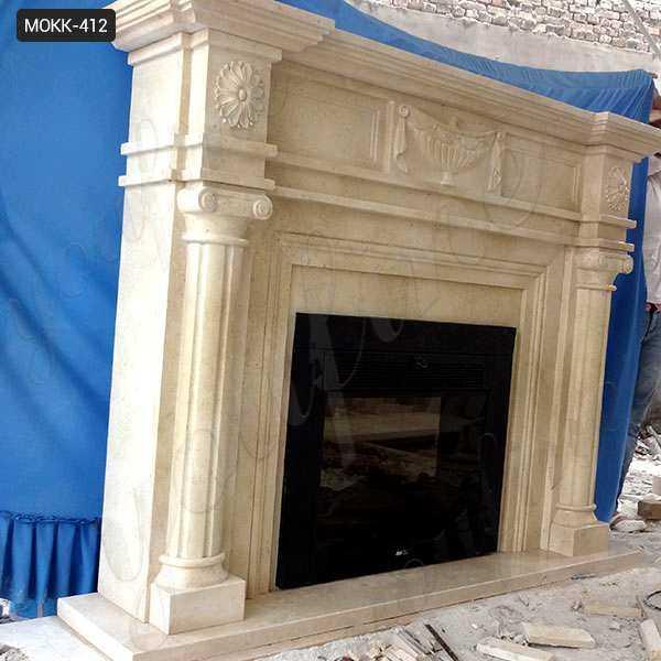 Stone Fireplace Mantels and Surrounds Wholesale MOKK-412