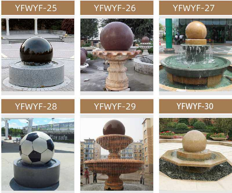 Stone Water Fountain for Home Decoration