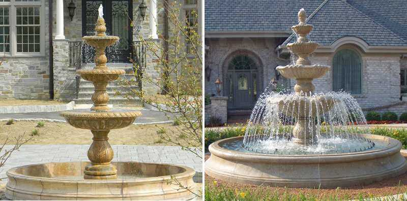 Stone Water Fountains for Home Decor from Factory Supply