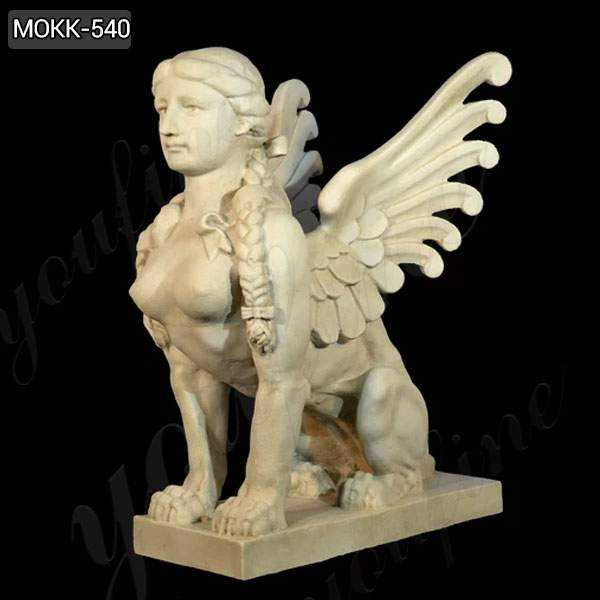 What is the Sphinx Marble Statue of ?