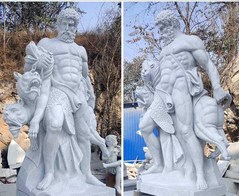 ancient heracles statue for sale