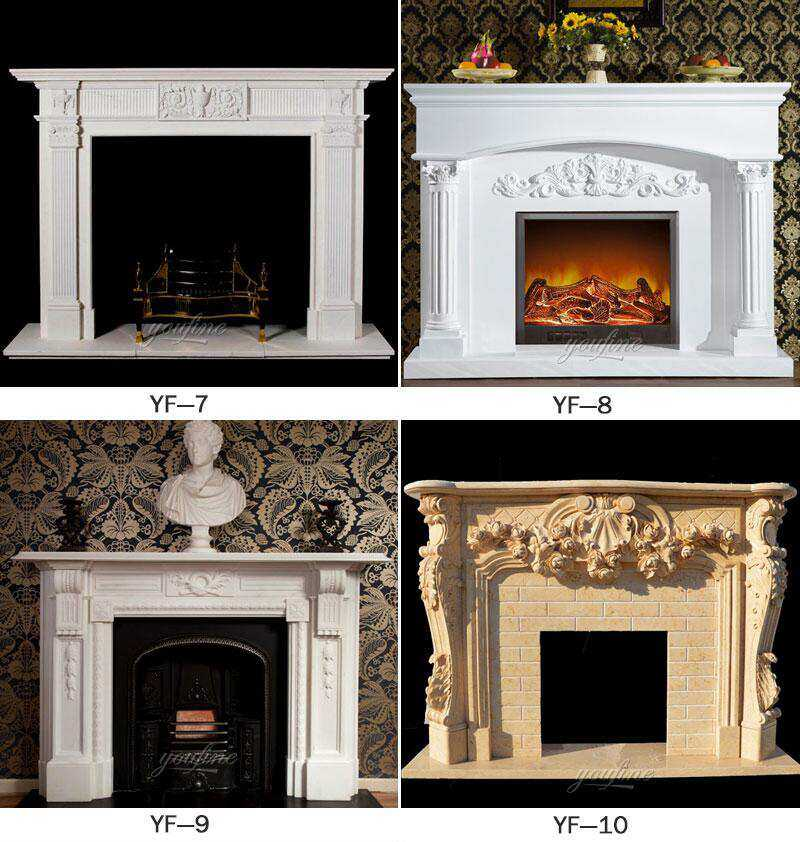 contemporary fireplace mantels and surrounds for sale