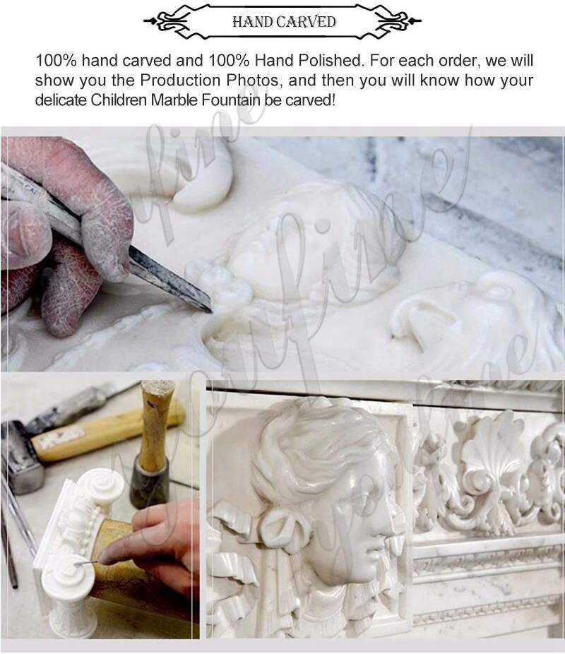 process of Large Size Marble Elephant Statue
