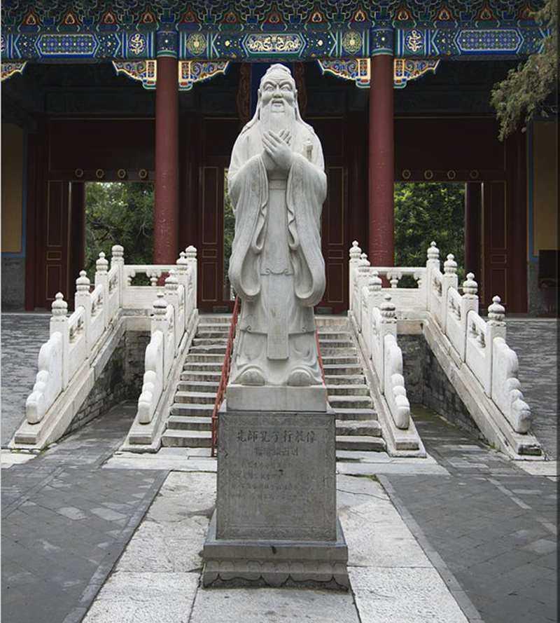 statue-of-confucius-religious garden statues,