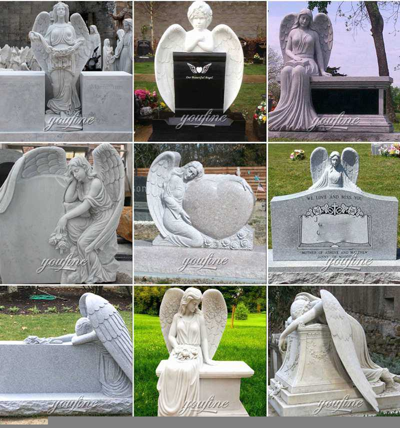 Beautiful Marble Angel Monument Supplier