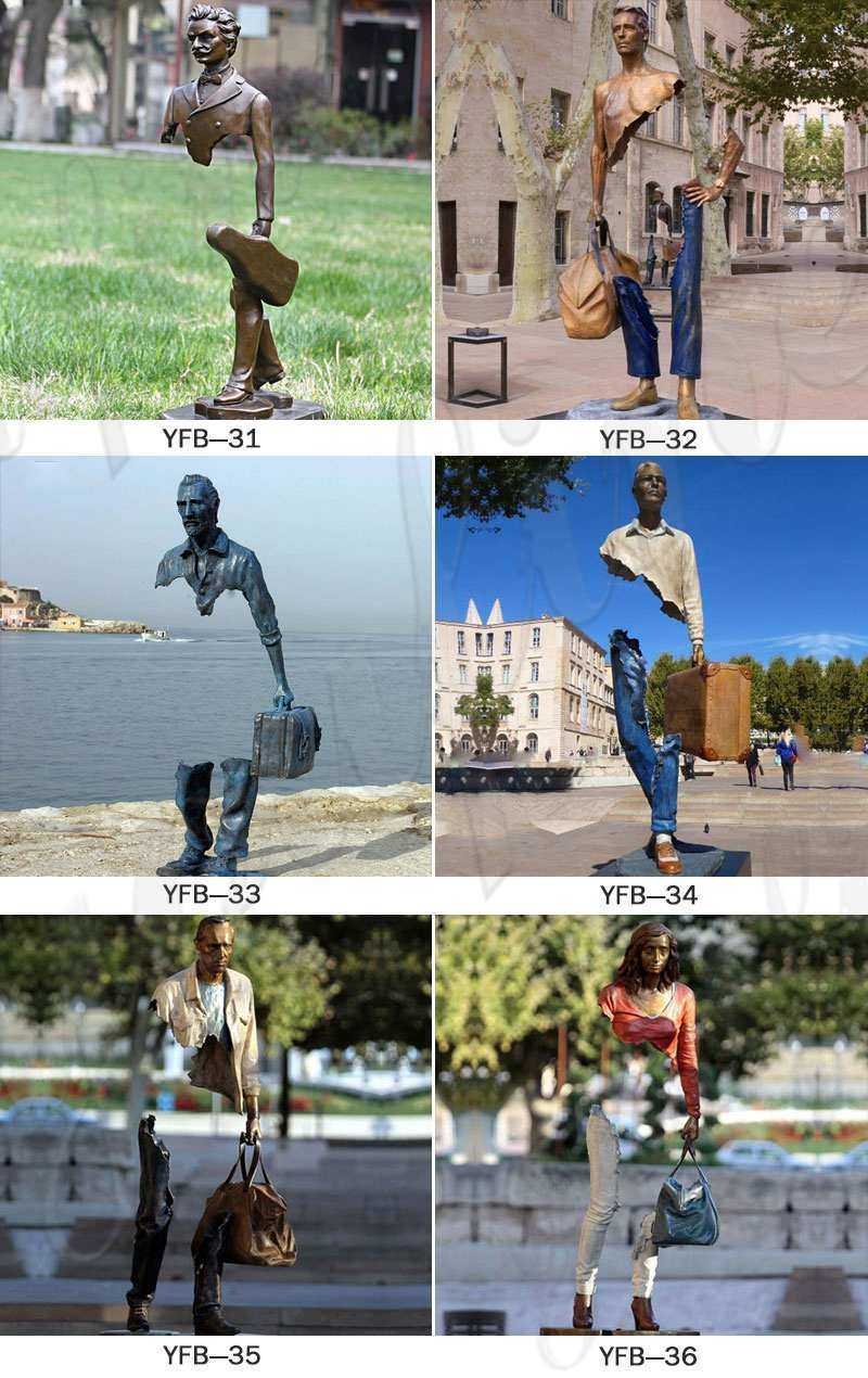 Bronze Bruno Catalano Travelers Sculpture Supplier