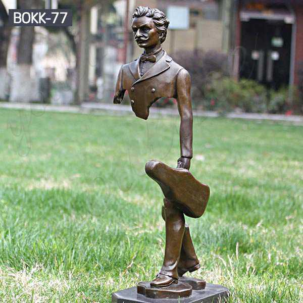 Buy Life Size Bronze Bruno Catalano Sculpture Les Voyageurs Online BOKK-77
