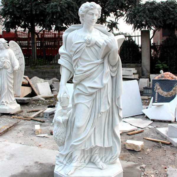 Church marble religious statues of St. John for sale