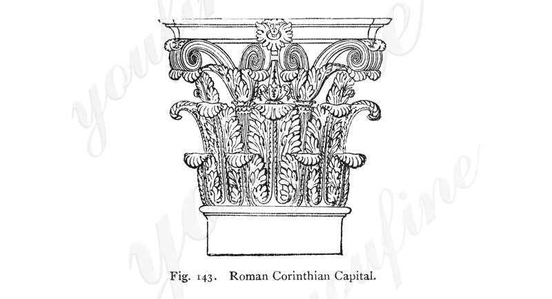 Corinthian order columns for sale