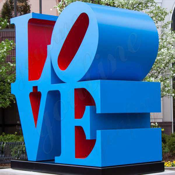 Where is the Love Statue?
