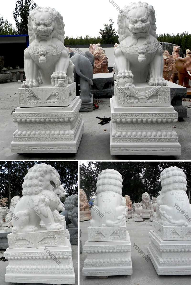 Large Foo Dog Statues for Sale Outdoor