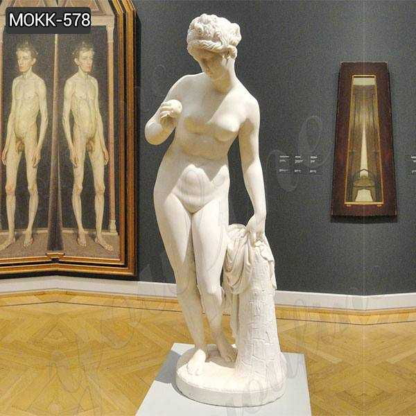 Life Size Venus with Apple by Thorvaldsen Marble Statue Replica