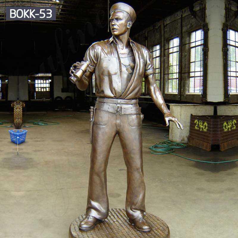 Military Statues Bronze Veterans Memorial Seaman Statue