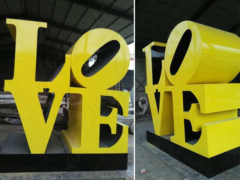 Seven Maintenance Tips for Stainless Steel Love Sculpture