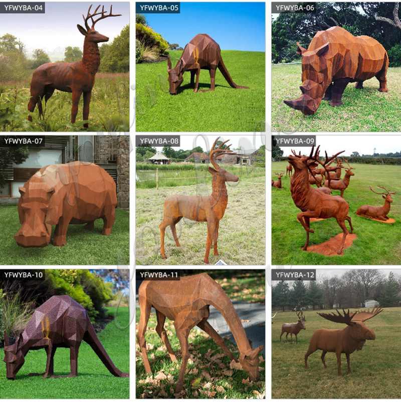 Stainless Steel Animal Sculpture