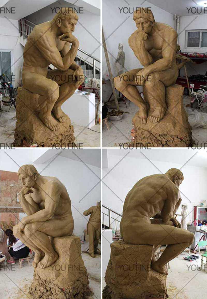 Thinker-statue-for-garden-decor