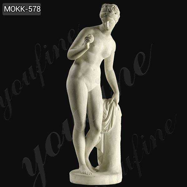 Venus with Apple by Thorvaldsen Marble Statue Replica