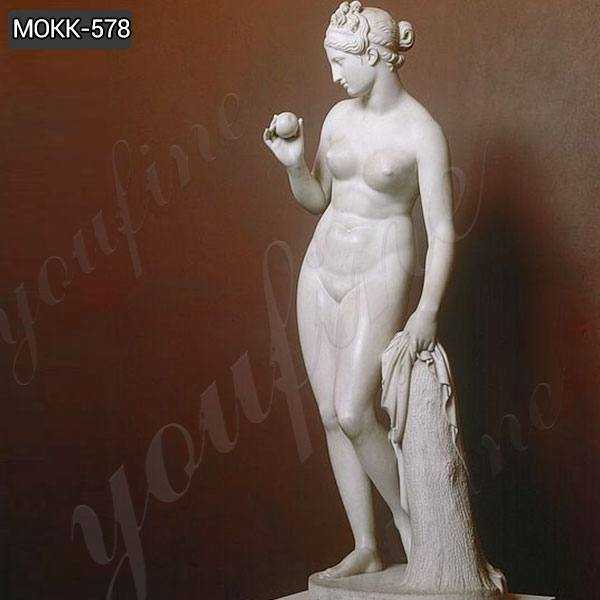 Venus with Apple by Thorvaldsen Marble Statue