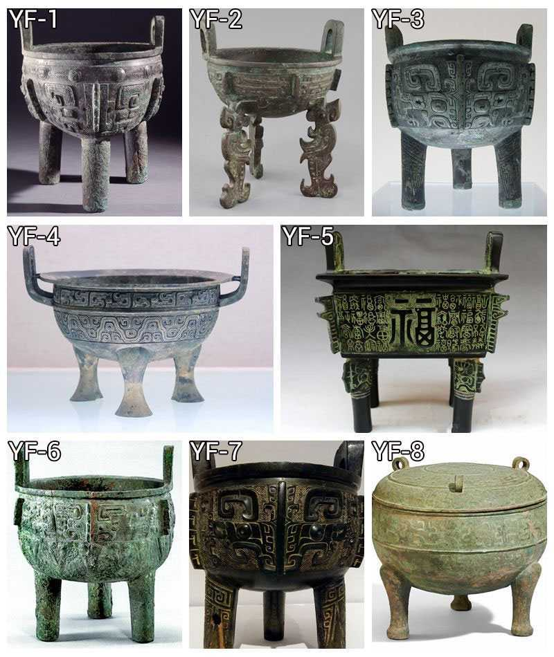 Where to Buy Chinese Cast Bronze Ding Tripod Censer for Temple BOKK-738
