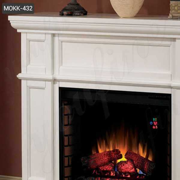 White Marble Fireplace Surrounds