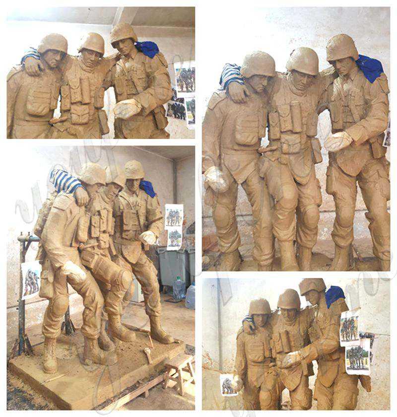 bronze Solider statue