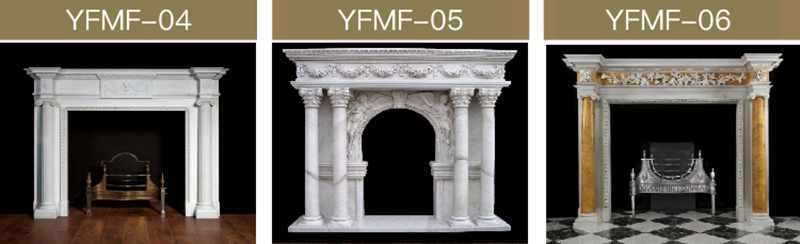 cast stone fireplace surround for sale