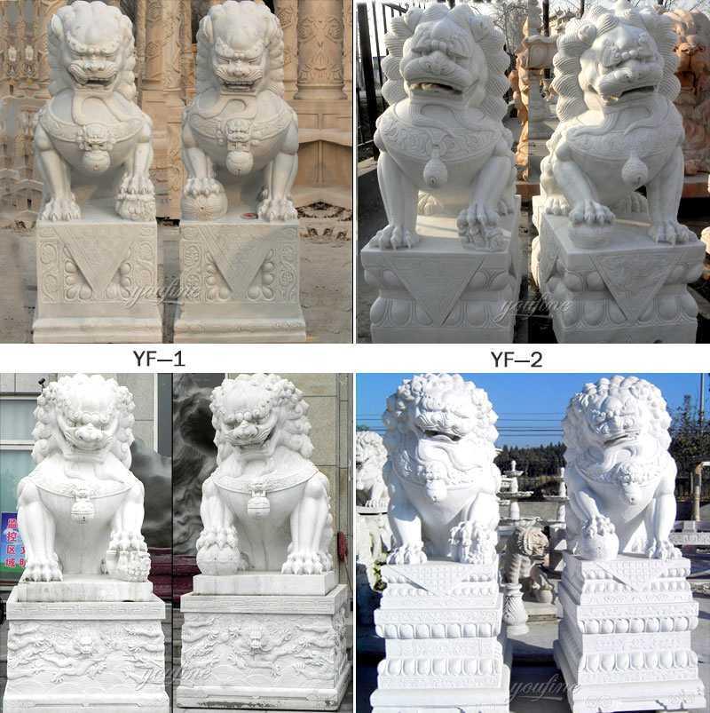 foo dog statues for garden