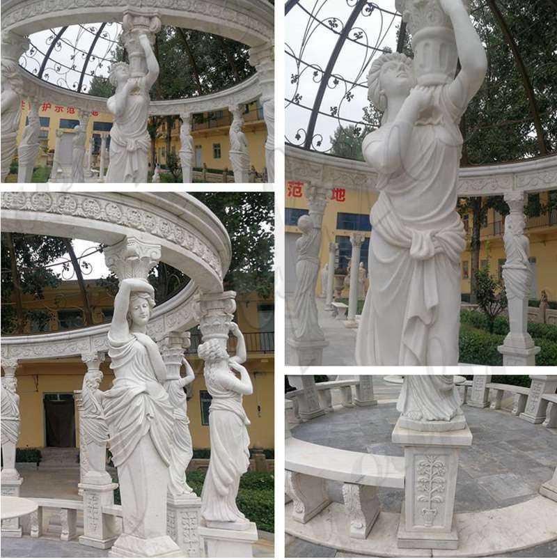 marble top gazebo