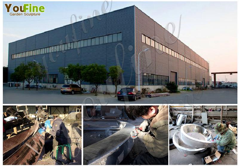 stainless steel garden sculpture factory