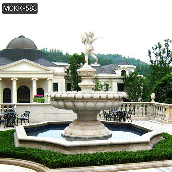 Best Marble Water Fountain with Little Angel Statue