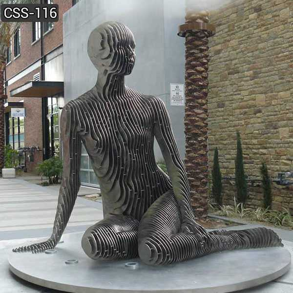 Contemporary Stainless Steel Isabelle Sculpture for Sale