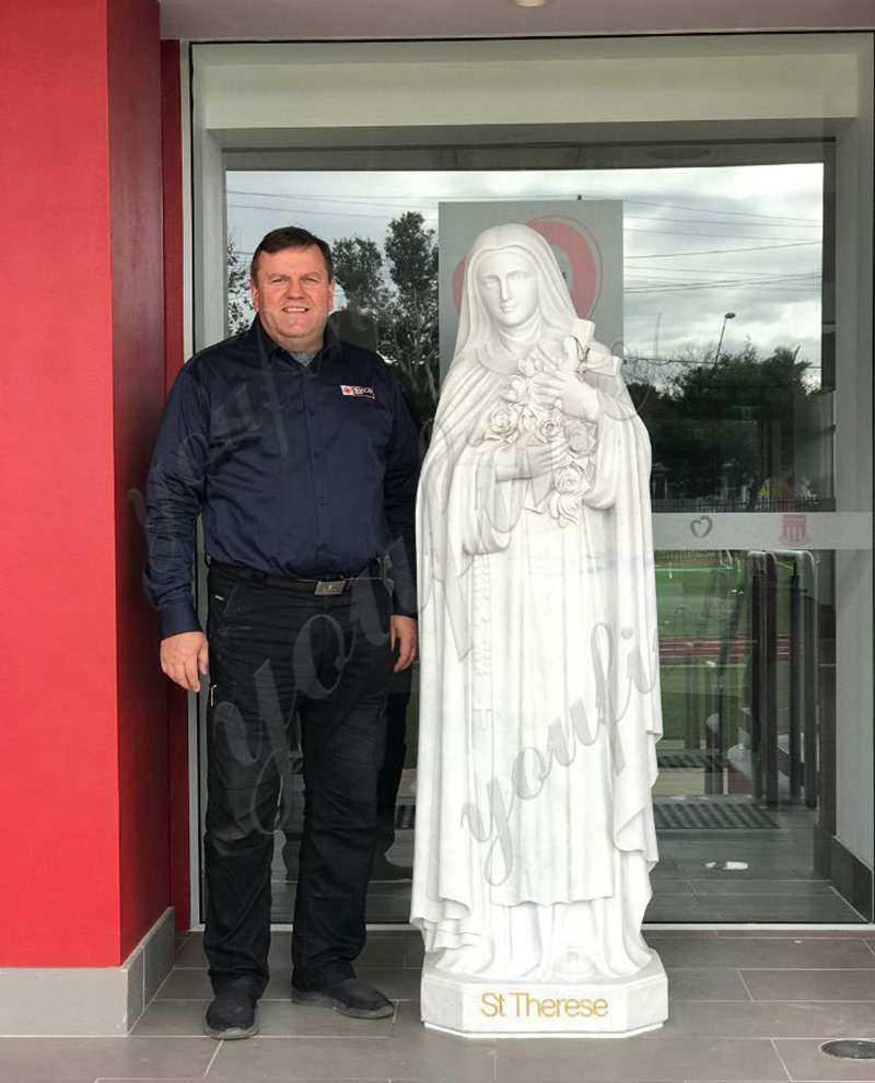 Custom made Teresa marble statue