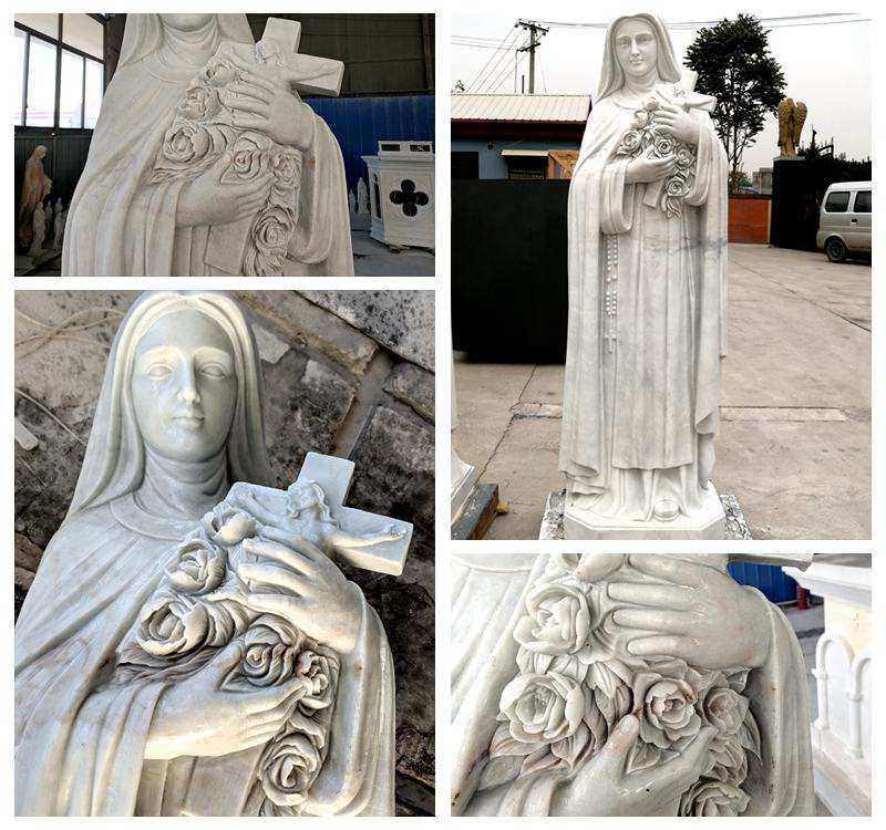 Custom made religious marble statue