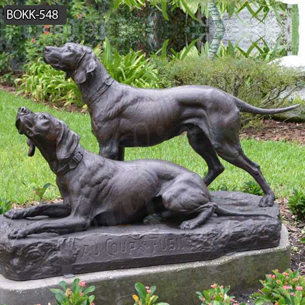 High Quality Bronze Life Size Greyhound Sculpture Bronze Dog Supplier BOKK-548