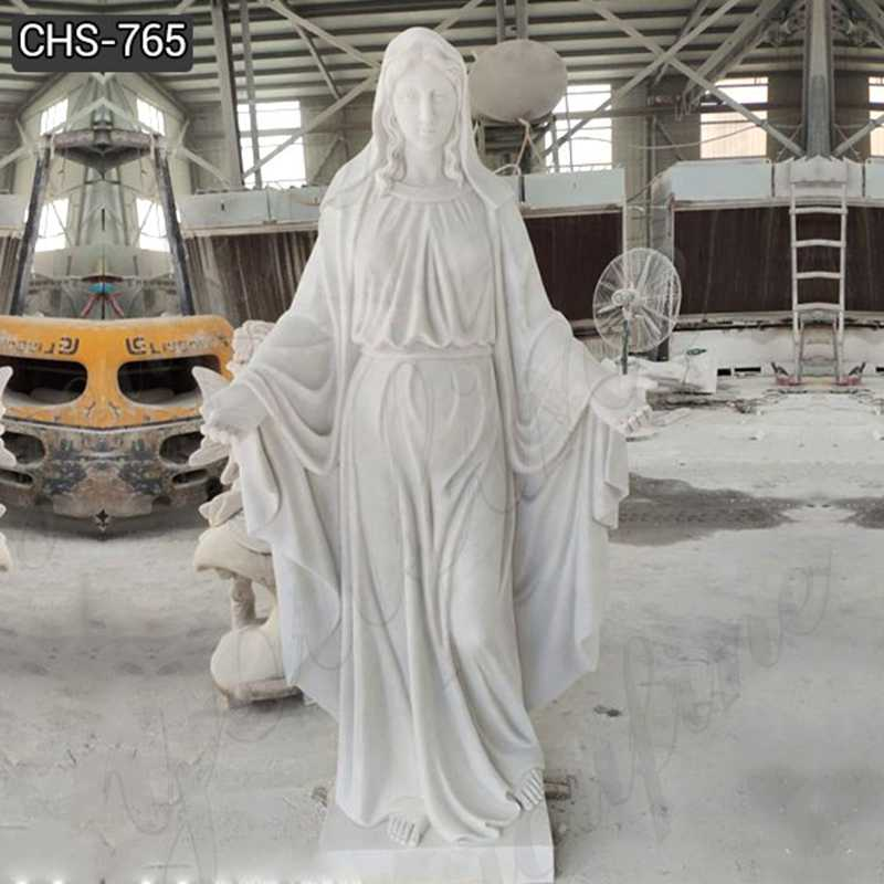 Life Size Blessed Mother Madonna Statues for Outside for Sale