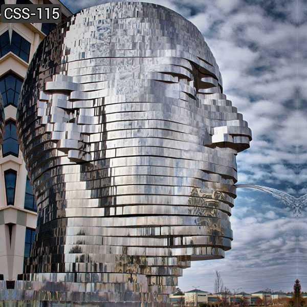 Metalmorphosis Stainless Steel Sculpture for Sale