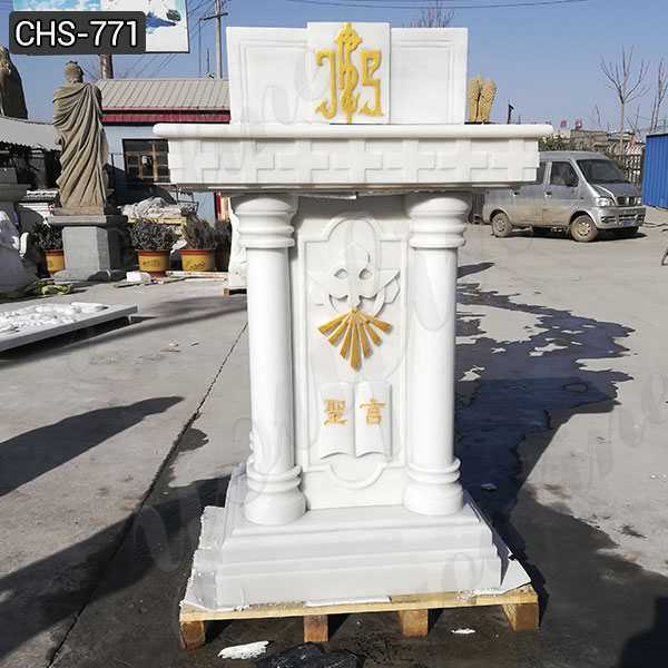 Natural Marble Religious Church Pulpit for Sale