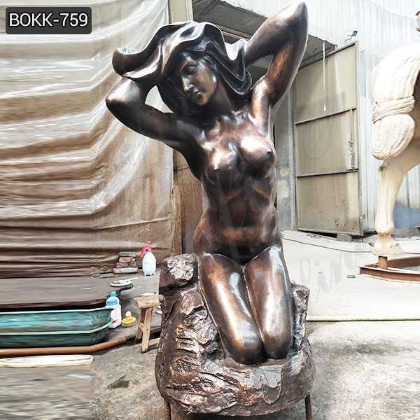 New Design Hand Made Bronze Nude Female Statue for Sale BOKK-759