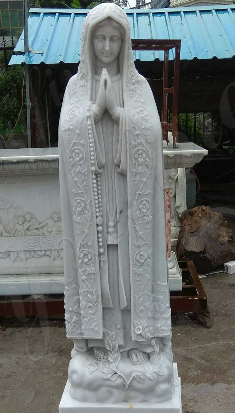 Our Lady of Fatima Marble Statue Professional Factory Manufacturer