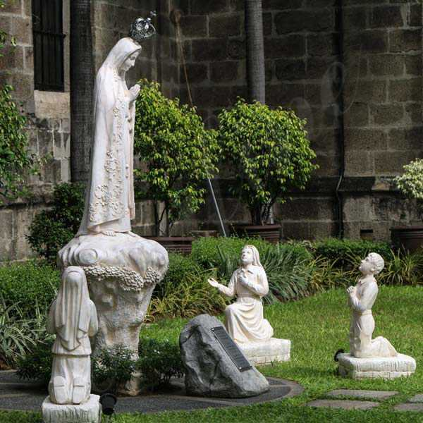 Our Lady of Fatima with Three Children Garden Statue for Sale CHS-715