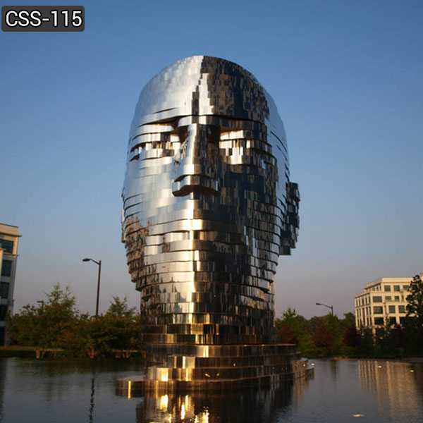 Outdoor Metalmorphosis Stainless Steel Sculpture for Sale