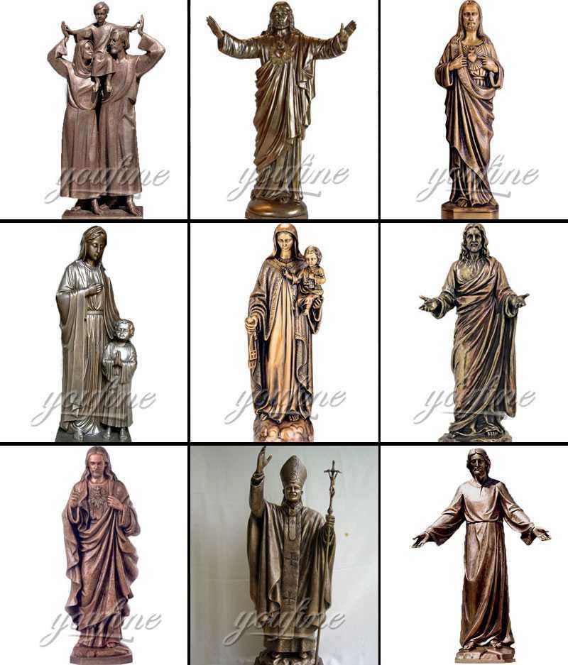 Religious saint statue for sale
