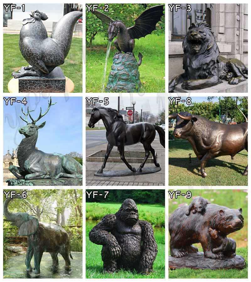 bronze-animal-statue