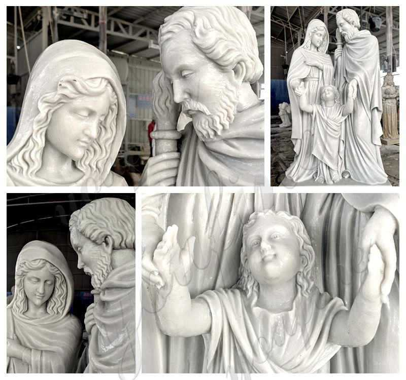 choly family statue