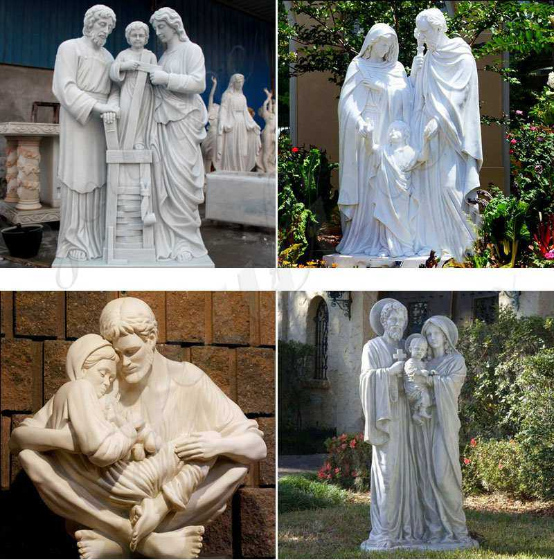 holy family statue outdoor