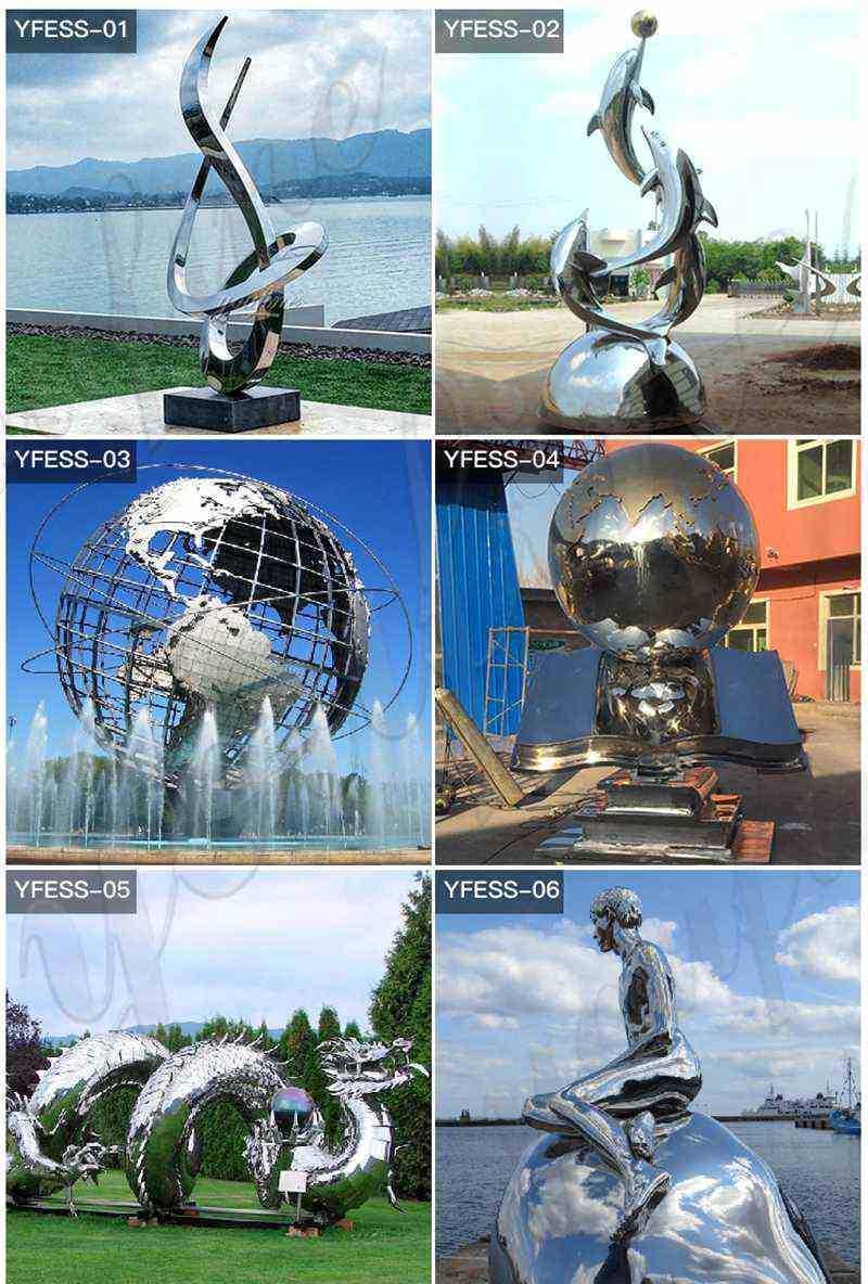 more designs of large outdoor metal sculptures