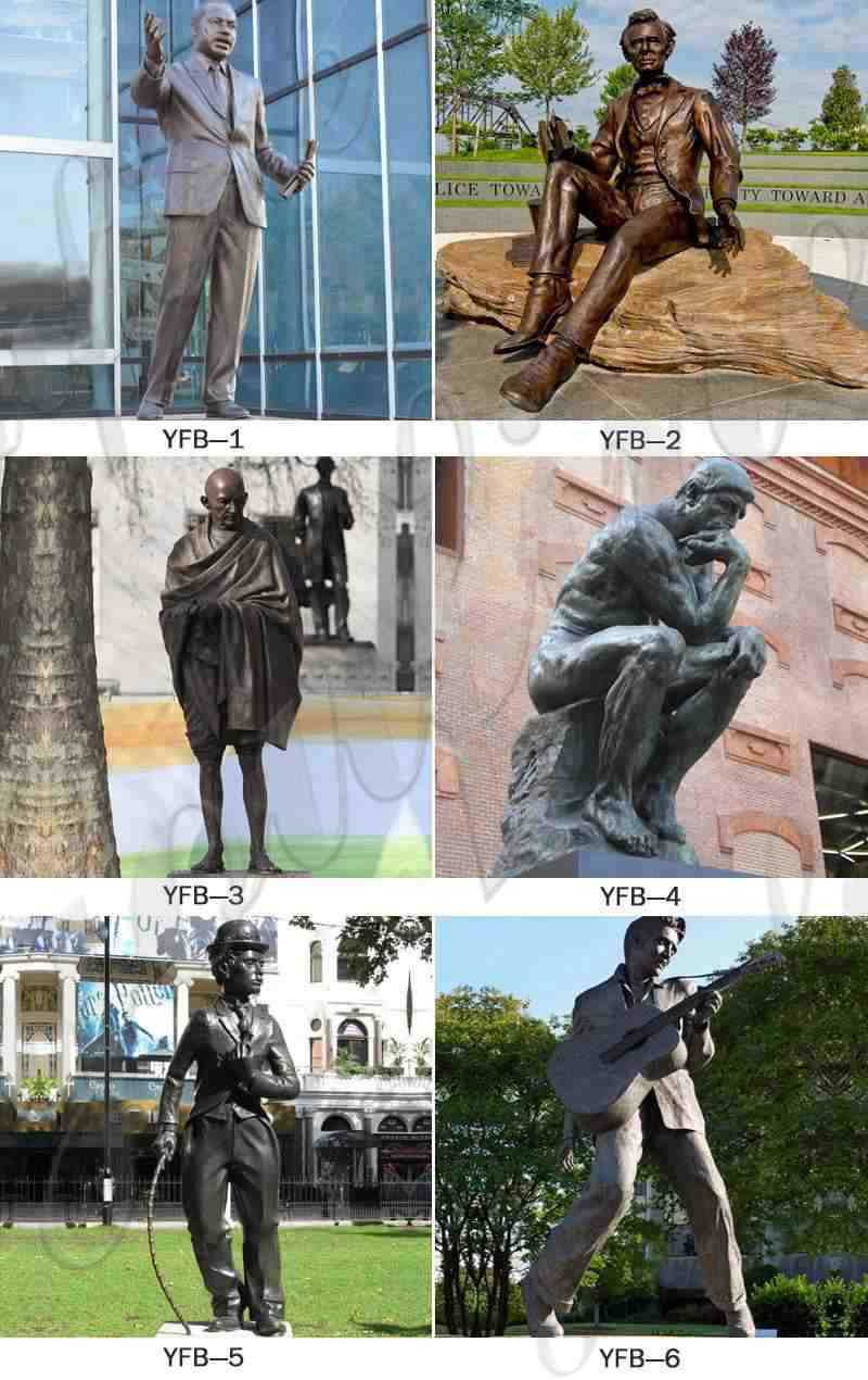 more famous bronze stautes