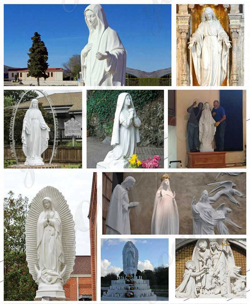 most beautiful fatima statues